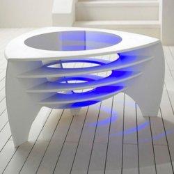 Kleine moderne Marmeren Koffietafel eenvoudig centrum Tafelmeubilair Acryl Kunstmatige stenen koffietafel