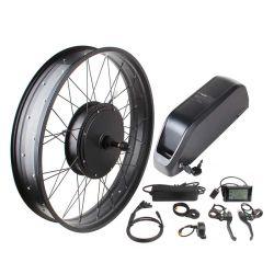 Neumático Fat 350 W y 500W 750W 1000W 36V 48V directo sin escobillas Kits de Conversión de Motor Bicicleta eléctrica