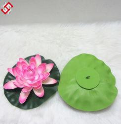 Faux artificial de esferovite falsos EVA material decorativo Toque Real Suave Lotus