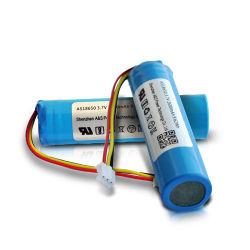 Werk/Hersteller UL/PSE/CB/Kc/MSDS/UN38,3 wiederaufladbarer Li-Ion 3,7V 2600mAh 9,62wh Li-Ion 18650 Lithium-Ionen-Akku mit PCM-Kabelanschluss