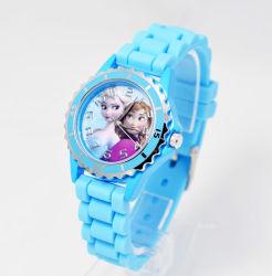 カスタマイズされた流行の昇進のシリコーンの腕時計の女性および子供の腕時計 ギフト