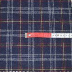 Garn färbte Check-Polyester-Wolle-Mischungs-Plaid-Tweed-Gewebe für Mäntel