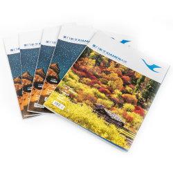 Personalizar o Catálogo de Cores de Encadernação perfeita impressão de revistas de livreto