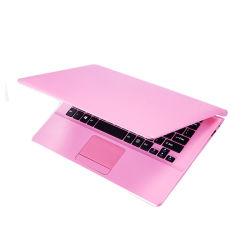 オンライン卸売女子学生のNetcalssのアメリカのノートのためのピンクカラーラップトップの11.6インチのラップトップ