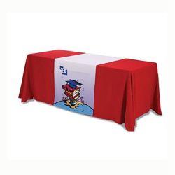 جدول معارض الطاولة المطبوعة المخصصة لطاولة العرض المخصصة قطعة قماش