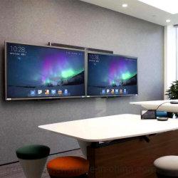 IR Infrarouge interactif Smart TV à écran tactile Multi Conseil Tableau blanc électronique Smart Board avec la caméra et microphone pour la réunion Conference & l'éducation