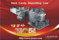 Disco rígido automático Candy Depositando a linha de produção