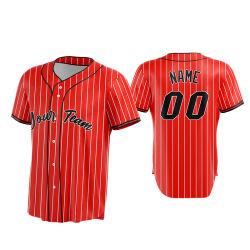 Set di maglie personalizzate per baseball Uniform Team Sublimation all'ingrosso