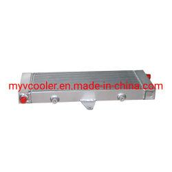 Inter dispositivo di raffreddamento del piatto di alluminio della barra per la vettura da corsa