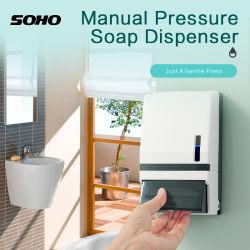 Uso dell'hotel flacone resistente a parete rimovibile sapone manuale in schiuma imbevuto di alcool Dispenser