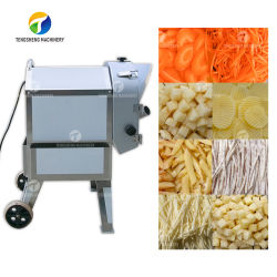 Frutas vegetais cortador com pedal máquina de corte/batata e cenoura em cubos Máquina (TS-Q112)