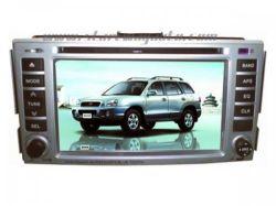 ヒュンダイサンタフェ2009年のための自動DVDプレイヤーのビデオ
