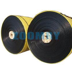 Résistant aux hautes températures industrielle importer l'exploitation minière en nylon imperméable en caoutchouc polyuréthane Cheap Ep Stock tuyau plat Pattern la courroie du convoyeur