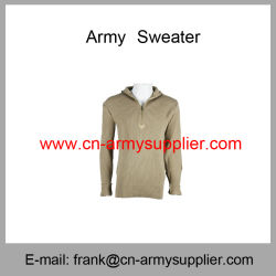 Segurança Jumper-Army Cardigan-Tactical Jersey-Police Suéter Pullover-Military
