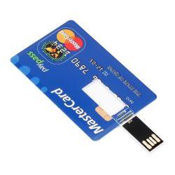 بطاقة ائتمان بيضاء فارغة سعة 1 جيجابايت سعة 4 جيجابايت وسعة 8 جيجابايت وسعة 32 جيجابايت وسعة 4 جيجابايت محرك أقراص USB محمول على شكل حرف USB/محرك أقراص USB مع ألوان كاملة الطباعة