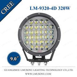 9 дюйма за круглым столом 320 Вт кри Offroad светодиодный фонарь направленного света фар дальнего света