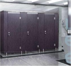 소형 솔리드 페놀 보드, 내구성이 뛰어난 현대식 공용 화장실 파티션 큐비클 시스템