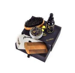 Eigenmarken-Bart-Sorgfalt-Pflegenwachstum-Öl-Mann-Installationssatz-Kasten-Bart-Pflegeninstallationssatz-persönliche Sorgfalt-Produkt-Haar-Bart-Öl-Bart-Balsam
