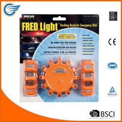 Straßen-Aufflackern-blinkende Warnleuchte 3 Satz-LED