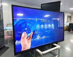 75 polegadas integrado de PC em um só toque em 4K OPS Multi IR painel táctil inteligente electrónicas comunicações interativas