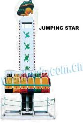 Het springende Spel van de Rit van het Vermaak van de Kikker, de Mini Vrije Toren van de Daling