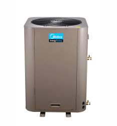 Mideaの直接暖房の-15から及ぶ商業空気ソースヒートポンプの給湯装置20kw Ewiredのコントローラ--43の摂氏温度