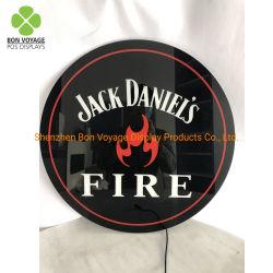 주문 Wine&Beer 아크릴 옥외 광고 LED 표시 및 가벼운 상자 전시