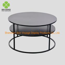 Moderne 2 Lagen om de Koffietafel van de Voeten van het Metaal van het Meubilair van de Woonkamer