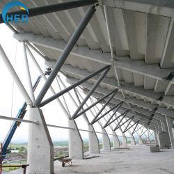 Buisvormige garage High Rise Building Chicken House Steel Structure