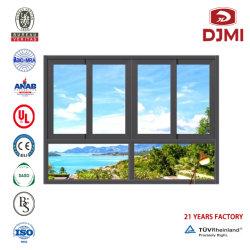Nuovo comitato del doppio di disegno che fa scorrere finestra di vetro commerciale