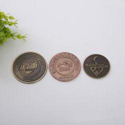 Los fabricantes Custom-Designed Badge paisaje de la producción de cobre esmaltado de Metales de moneda moneda conmemorativa