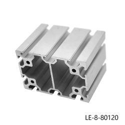 Perfis de alumínio extrudido/perfil de alumínio para os roteadores CNC Tabelas CNC