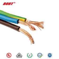 UL1571 연결관 평면 케이블 PVC 절연제 전선