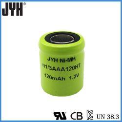 Hochtemperatur-Batterie der nachladbaren Batterie-H1-3AAA 120mAh Ni-MH