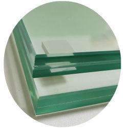 高層ビルのFramelessのガラス明確な薄板にされたガラス6.76mm