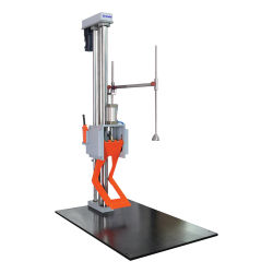 Impact de chute libre industrielle mécanique testeur Instrument de test de chute