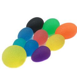 La terapia de mano de forma redonda de gel de TPR Ejercicio Squeeze bola estrés