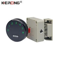 KERONG 높은 안전 통제 시스템을%s 가진 안전한 상자를 위한 지능적인 전자 부호 내각 로커 작은 자물쇠