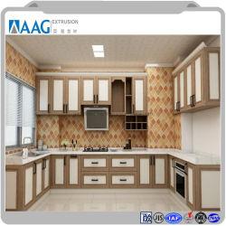 方法現代台所単位、アルミニウム食器棚