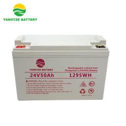 24V 60AH Валанса LiFePO4 26650 элементов аккумуляторной батареи