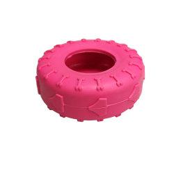 Giocattolo per tosatura per cani TPR resistente (forma di pneumatico)