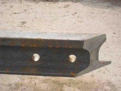 Großhandel 18kg / M Light Steel Rail und Bahn Track Q235 Material Eisenbahnstrecke