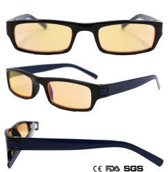 Classic châssis en plastique carrée de la lecture des lunettes de soleil (WRP806042)