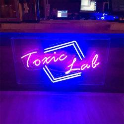 De Staaf RGB Acryl LEIDENE van het van uitstekende kwaliteit van de Kleur Teken van het Neon met Doos