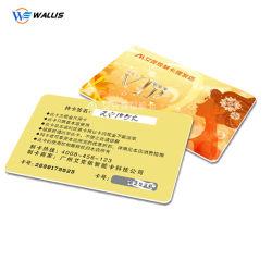 Barata Made in China de espesor de papel autoadhesivas de PVC respaldado Tarjeta de impresión a doble cara