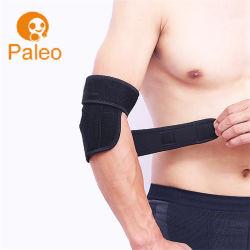 Braço de suporte do cotovelo respirável ajustável para prevenção de tendinite do exercício