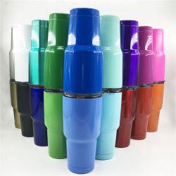 Custom 30 Oz Botella de agua de los deportes de doble pared de acero inoxidable taza de agua Jarra de cerveza