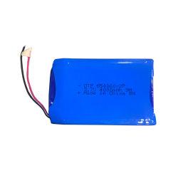 맞춤형 크기 3.7V 4ah 리튬 폴리머 충전식 배터리 팩