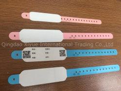 Medizinische Kennzeichen-Handgelenk-Brücke-geduldige Armband IdentifikationWristbands