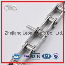 Acciaio inossidabile di nylon vuoto allungato 304 di Pin di Pin una catena dei 316 rulli